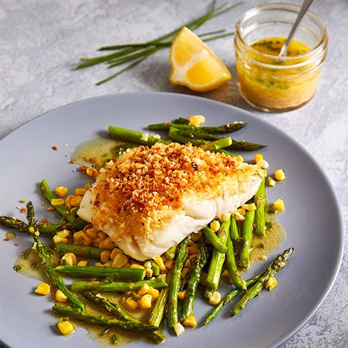 Crispy Air Fryer Cod