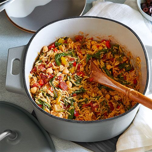 Baked Orzo