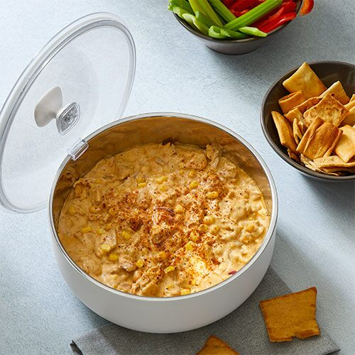 Quick Cooker BBQ Chicken Dip