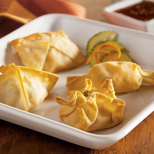 Baked Potstickers with Sweet Asian Dipping Sauce