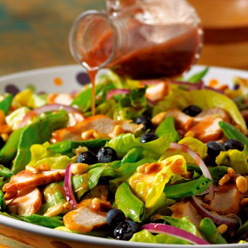 Berry-Pine Nut Chicken Salad