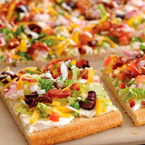 BLT Ranch Salad Pizza