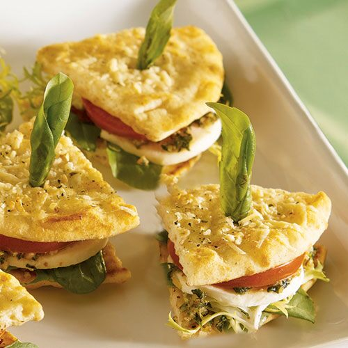 Caprese Mini Sandwiches - Recipes | Pampered Chef Canada Site