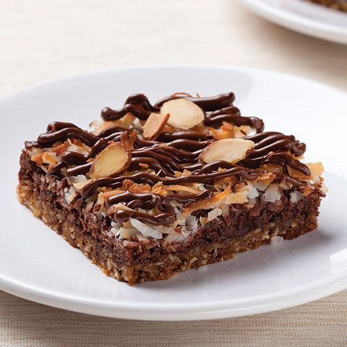 Chewy Chocolate-Coconut Joy Bars