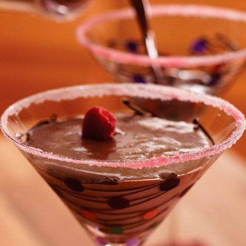 Chocolate-Raspberry Martinis