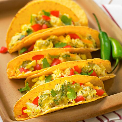 Crunchy Breakfast Tacos Recipes Pampered Chef Canada Site