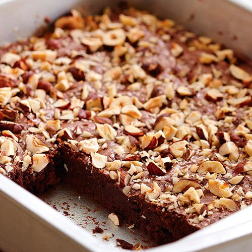 Decadent Hazelnut Brownies