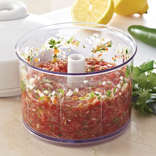 Fresh Tomato Salsa - Recipes | Pampered Chef Canada Site
