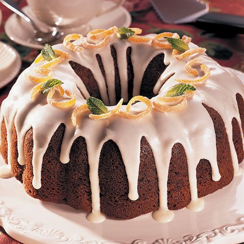 Glazed Honey Cake
