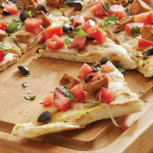 Play Grilled Mediterranean Pizza Video