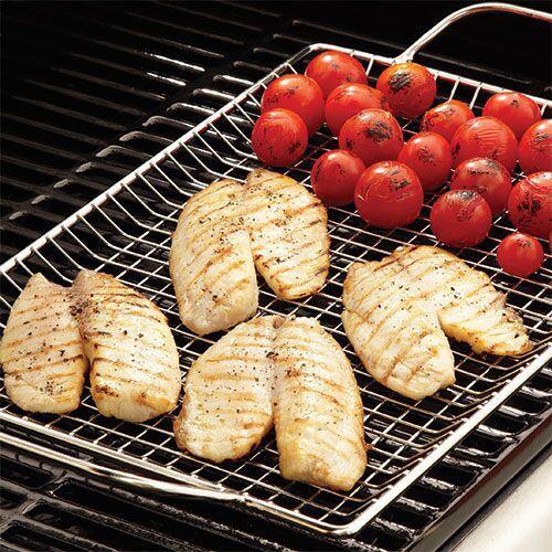 Grilled Tilapia with Tomato Relish