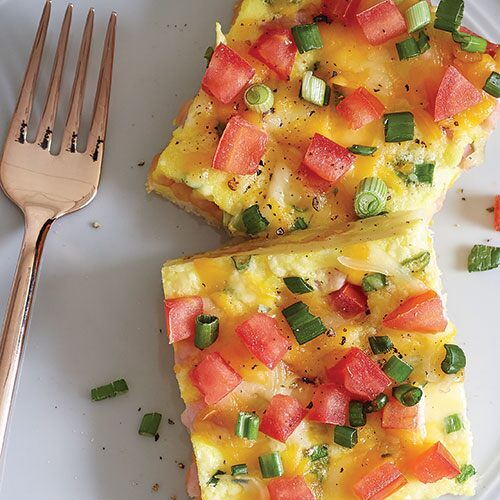 Ham & Cheese Brunch Squares