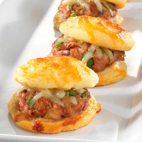 Italian Meatball Mini Burgers Recipes Pampered Chef