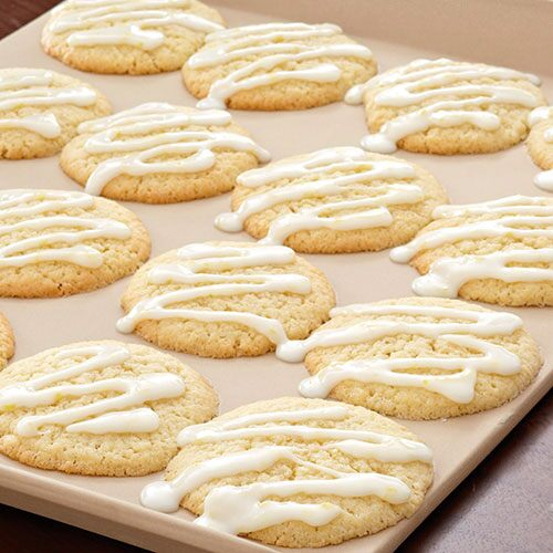 Lemon-Glazed Sugar Cookies