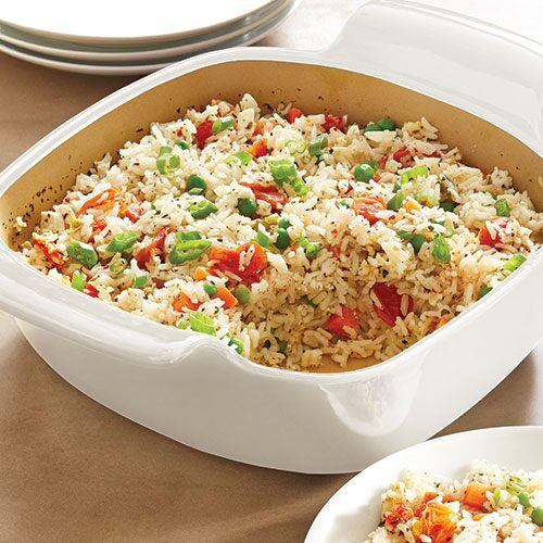 Mediterranean-Style Baked Rice