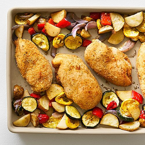 Pan-Roasted Chicken & Vegetables