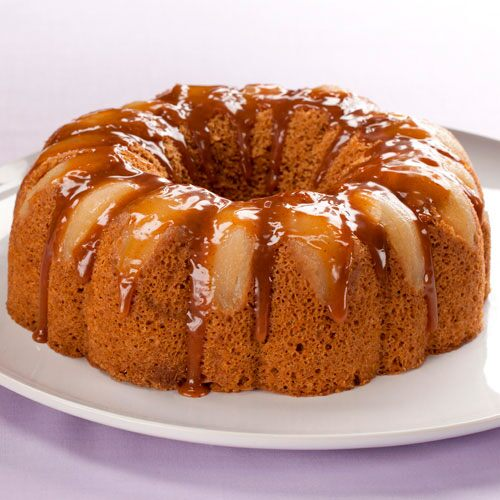 Pampered Chef Spiced Pear Fluted Cake