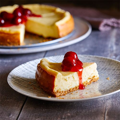 Perfectly Creamy Cheesecake