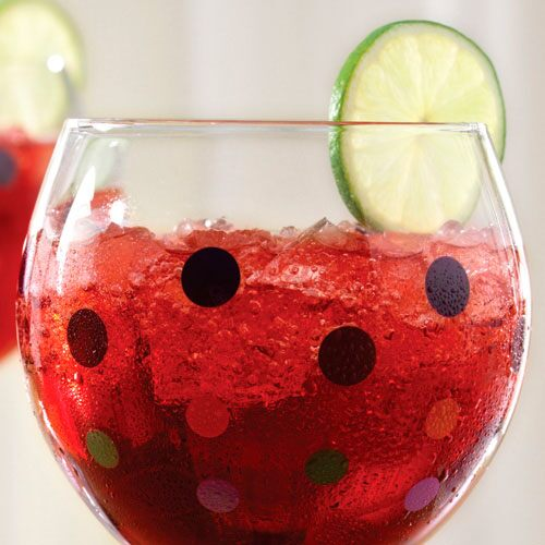 Pomegranate-Ginger Cooler