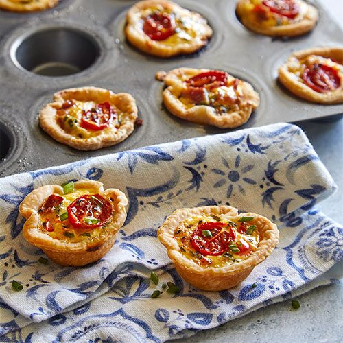 Quiche lorraine tartlets recipes pampered chef canada site quiche lorraine tartlets forumfinder Images