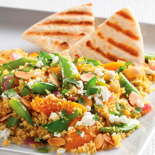 Quick Curried Couscous Skillet