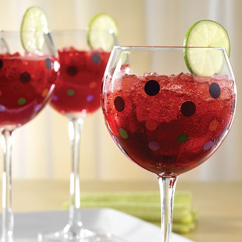 Raspberry-Ginger Wine Coolers