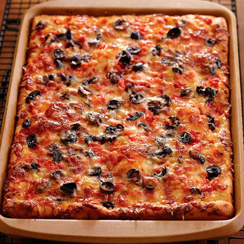 Roasted Pepper Focaccia