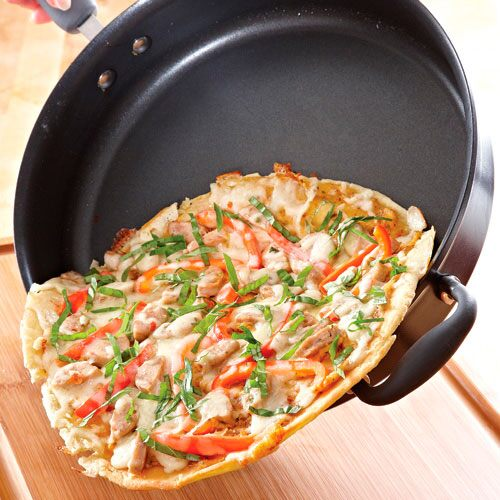 Stovetop Pan Pizza