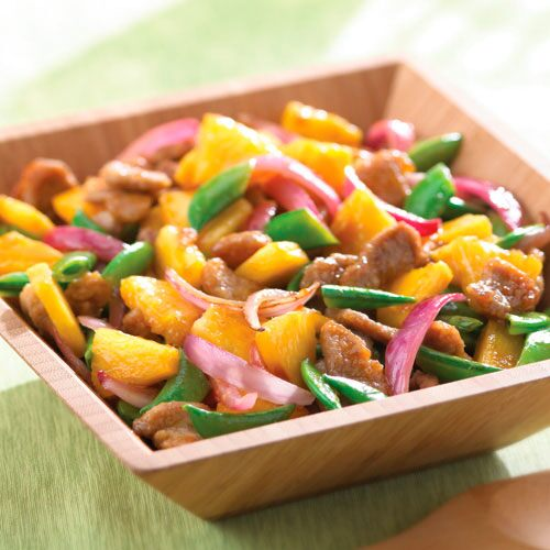 Sweet & Sour Pork & Pineapple Stir-Fry