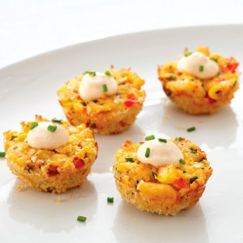 Sweet corn crab poppers recipes pampered chef canada site forumfinder Images