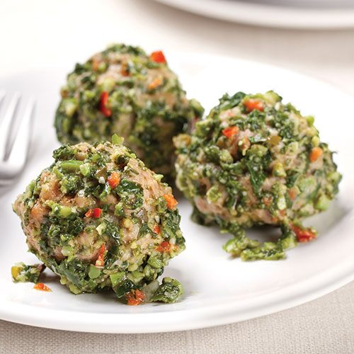 Tapenade-Turkey Meatballs