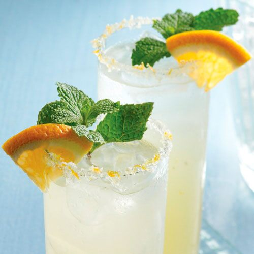 Triple-Citrus Mojitos