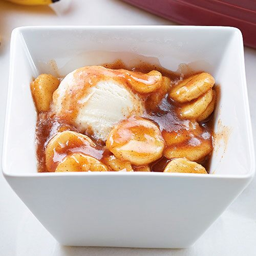 Warm Bananas Foster