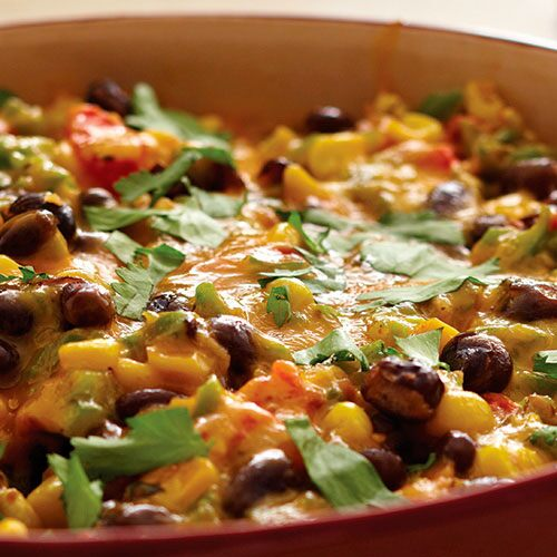 Warm Southwest Vegetable Dip