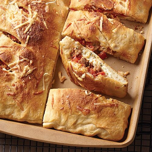 Stuffed Pizzones