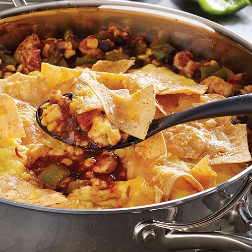 Chicken Tamale Skillet