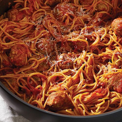 All-in-One Spaghetti & Meatballs