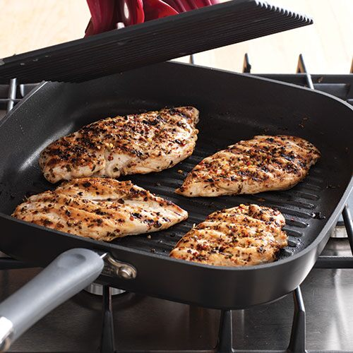 how to grill fish in a grill pan
